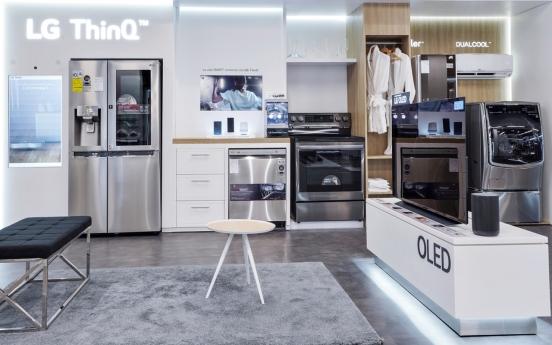 LG Electronics basks in robust home appliance rental biz