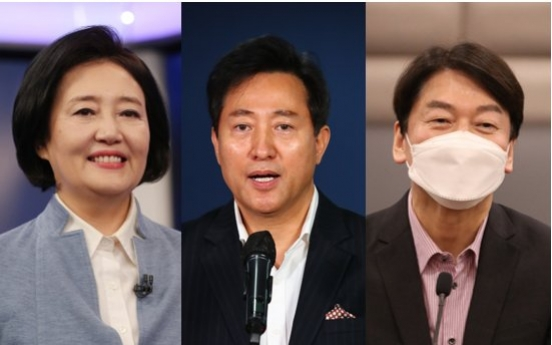 [Newsmaker] Polls show opposition only has chance if Seoul mayoral vote is two-horse race