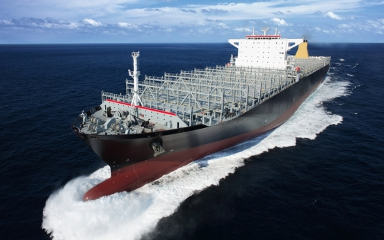 Samsung Heavy bags w794b order for 5 container ships