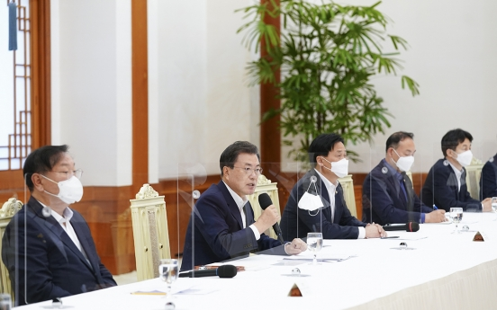 [Newsmaker] Moon says land speculation scandal 'unacceptable'
