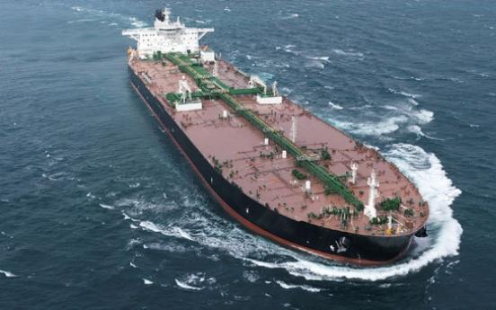 DSME scores major oil tanker deal worth 1.1 trillion won
