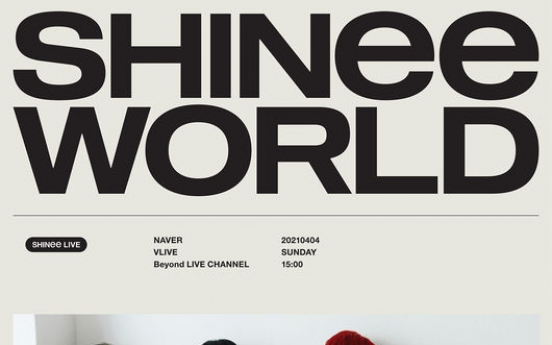 [Today's K-pop] Shinee to hold 1st online concert