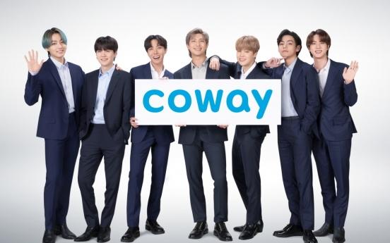 Coway hires BTS as new model