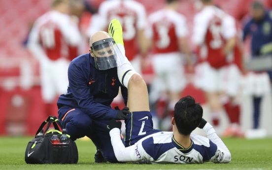 Tottenham's Son Heung-min suffers hamstring injury vs. Arsenal
