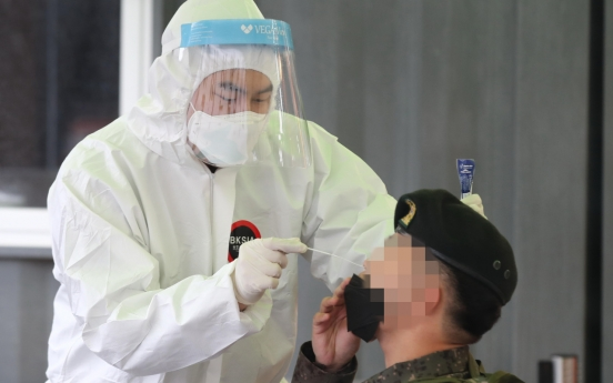 5 military members test positive for COVID-19