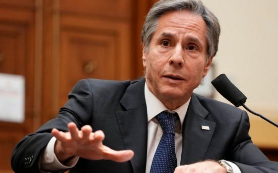 US stresses Korea-Japan relations before Blinken trip