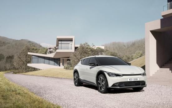 Kia fully unveils design of first E-GMP-based model, EV6