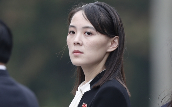 NK leader's sister slams S. Korea for military drills with US, threatens to scrap military pact