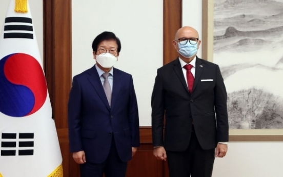 Assembly speaker supports Korean firms joining Costa Rica's electric train project