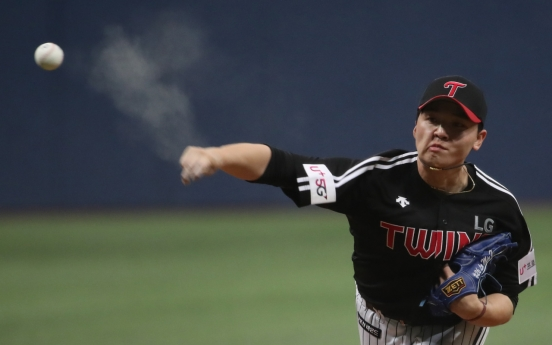 2nd-year KBO starter looking to throw curve, literally and figuratively