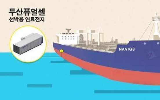 Doosan Fuel Cell, KSOE to jointly develop SOFCs for ships