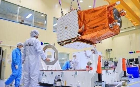 S. Korea set to launch next-generation observation satellite over weekend