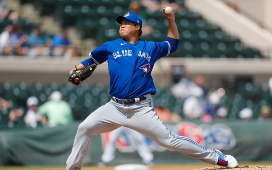 Blue Jays' Ryu Hyun-jin throws 5 shutout innings in simulated game