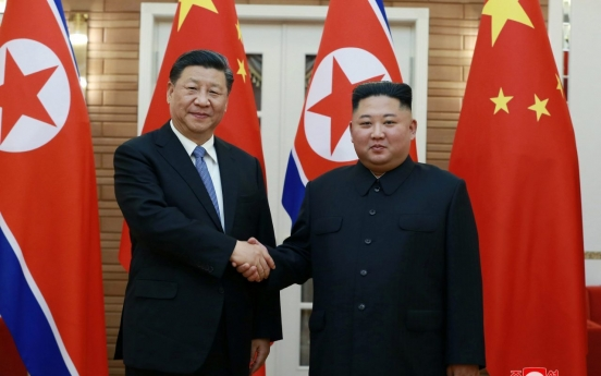 Kim calls for communication, unity with China against 'hostile forces' all-round challenges'