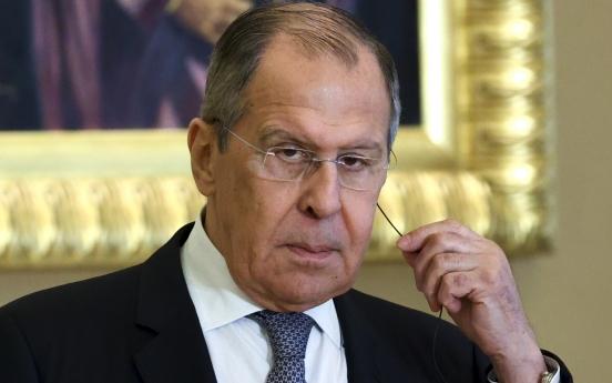 Lavrov raps US' Indo-Pacific strategy, 'bloc' building, ahead of Seoul visit