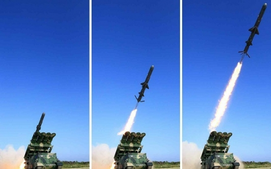 N. Korea fired two cruise missiles off west coast Sunday: JCS
