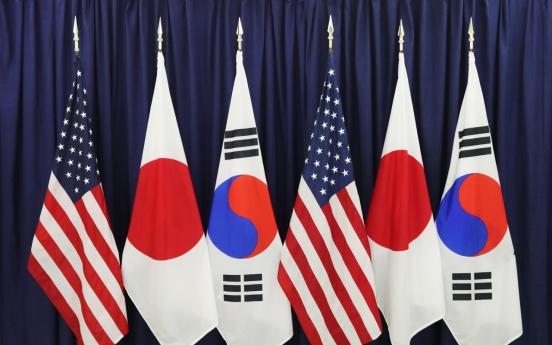S. Korea, US, Japan to hold high-level talks next week