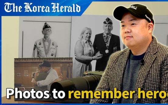 [Eye Interview] Remembering Korean War heroes through photos