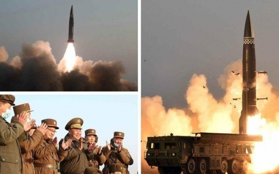 N. Korea says it test-fired new tactical guided missiles