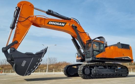 Doosan Infracore releases 100-ton excavators in global market