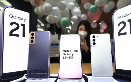 Samsung reclaims No. 1 spot in Feb. smartphone sales: report