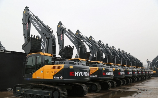 Hyundai Construction Equipment wins W250b in orders from China
