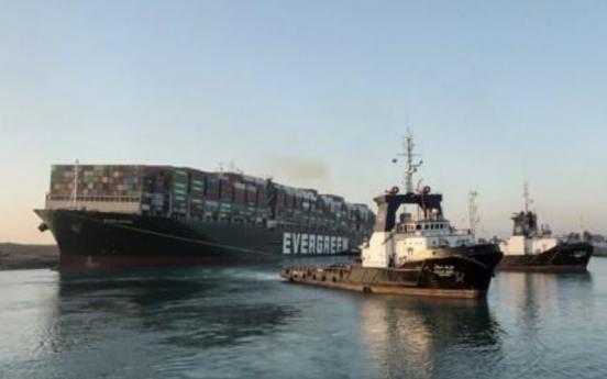 S. Korea sends naval destroyer to Suez Canal amid ship salvage work