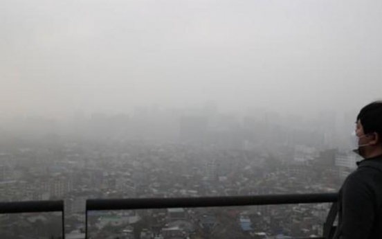 S. Korea suffocated by worst yellow dust storm in a decade