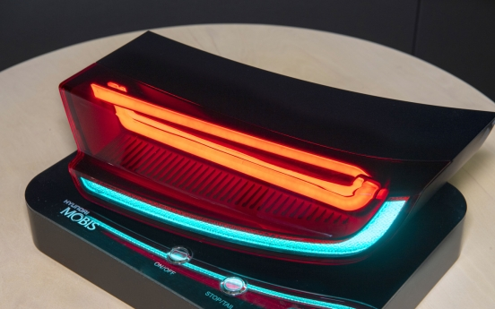Hyundai Mobis presents HLED as innovative rear lamp material