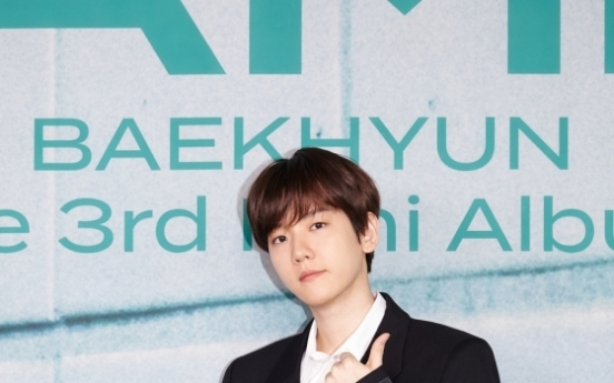 [Today's K-pop] Baekhyun discusses new record-setting EP