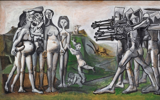 Picasso's 'Massacre in Korea' to be shown in Seoul for the first time