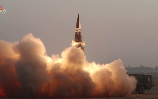 Latest NK missile nuclear-tipped, hard to intercept: report