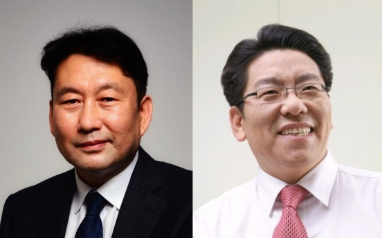 New CEOs take over at Korea Herald, Herald Corp.