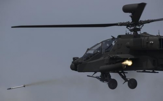S. Korea to buy more attack choppers from abroad by 2028