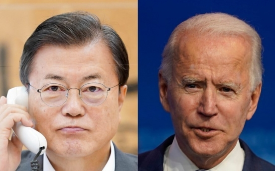 Cheong Wa Dae seeks Moon-Biden summit in April: sources