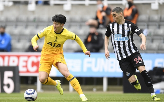 Tottenham's Son Heung-min held off score sheet in return from injury