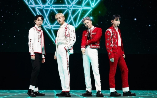 SHINee's weekend online concert draws fans from 120 countries
