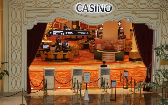 S. Korean casinos log big losses in 2020 on pandemic fallout