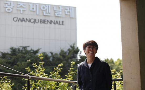 [Herald interview] Gwangju Biennale's Kim Sun-jung challenges conventions