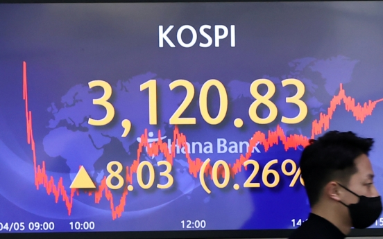 Seoul stocks up for 3rd day on US infrastructure plan
