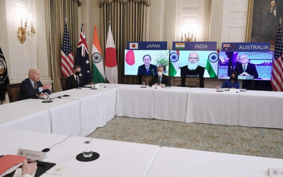 S. Korea willing to cooperate with Quad countries on issue-by-issue basis: official