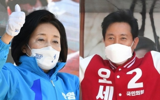 Bellwether mayoral by-elections kick off in Seoul and Busan