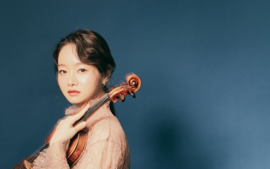'DG violinist' Kim Bomsori to hold solo recital in Korea