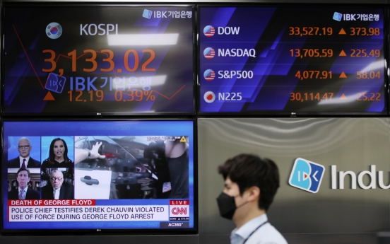 S. Korean households' stock investment hits record-high