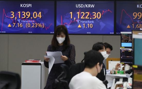 Seoul stocks open nearly flat on virus woes
