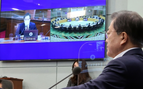 No fireworks as Moon, Oh hold first Cabinet meeting