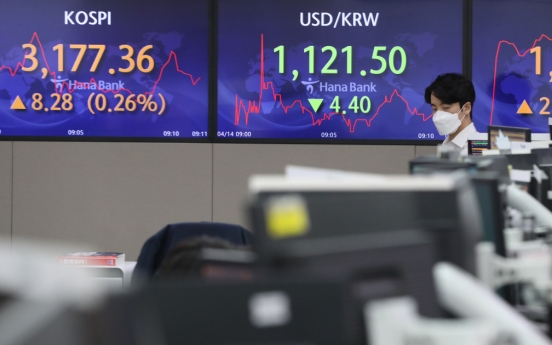 Seoul stocks open higher on eased inflation woes, job data