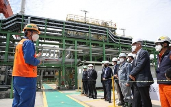 Samsung Heavy completes pilot test of LNG regasfication system