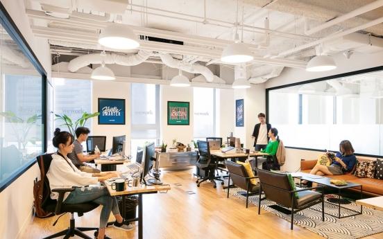 Amid pandemic, WeWork Korea tops in revenue growth