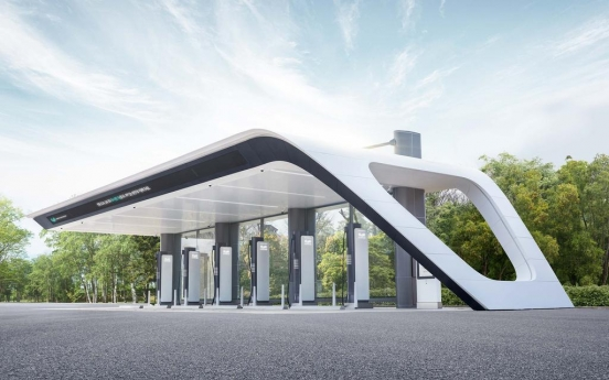 Hyundai Motor launches fast EV charging stations in highway rest areas